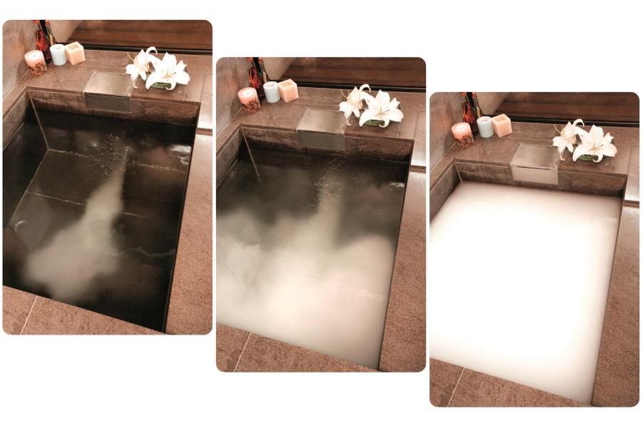 micro bubble bath