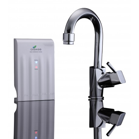 10 Second Machine with Single Handle Kitchen Lantern Shaped Faucet