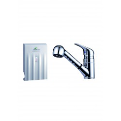 10 Second Machine with Single Handle Pull Out Faucet