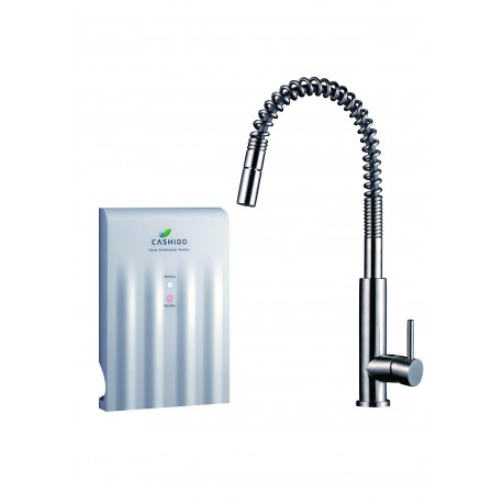10 Second Machine with Pull Down Kitchen Stainless Steel Faucet